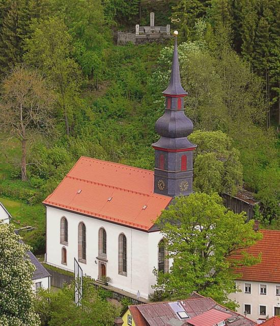 Barocke Markgrafenkirche St. Johannis