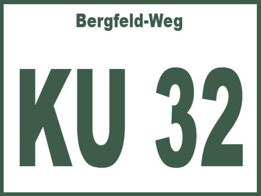 Bergfeld-Weg KU 32