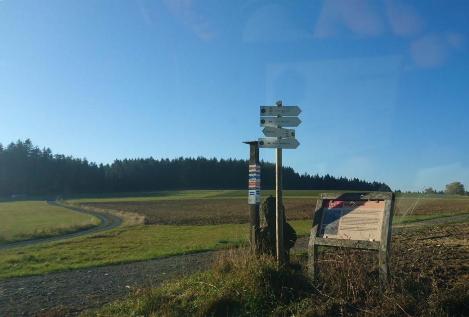 FrankenwaldSteigla Achatzmühlen-Weg
