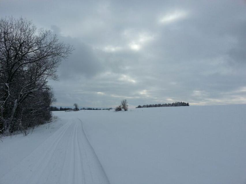 Nordhalben: Panorama-Skiwanderweg
