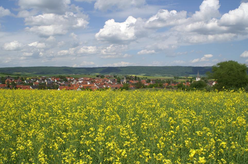 Idyllisch gelegen - Gemeinde Aidhausen