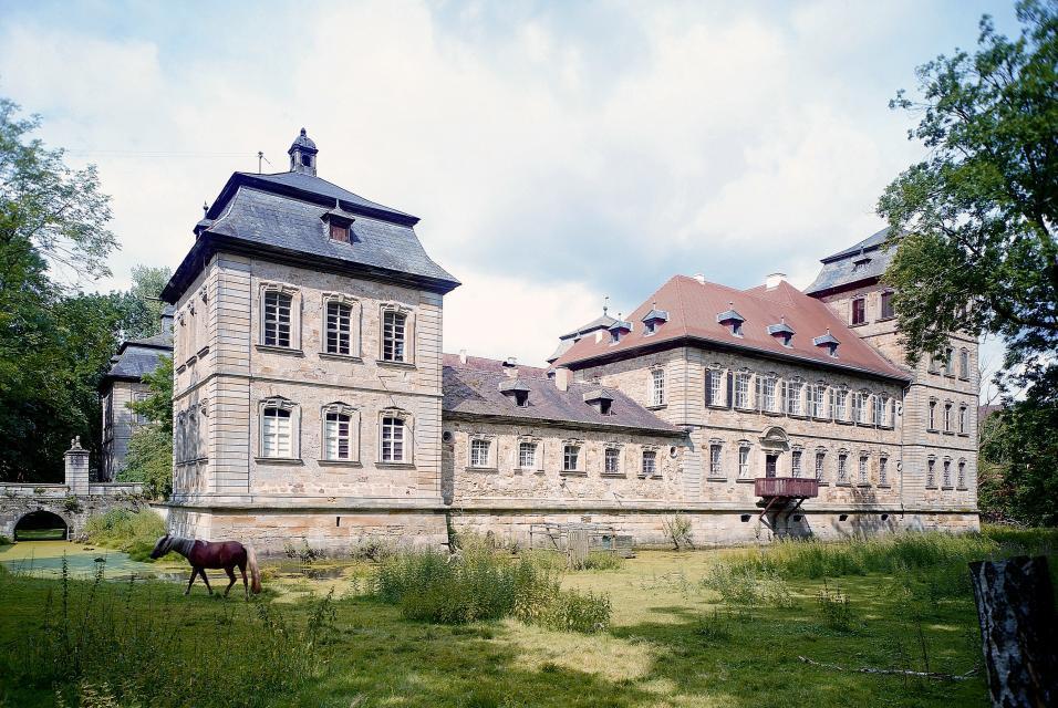 Idyllisches Schloss Burgpreppach