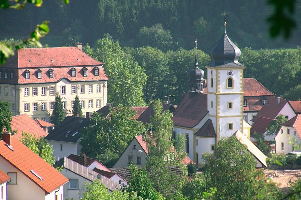 Blick auf Ebelsbach