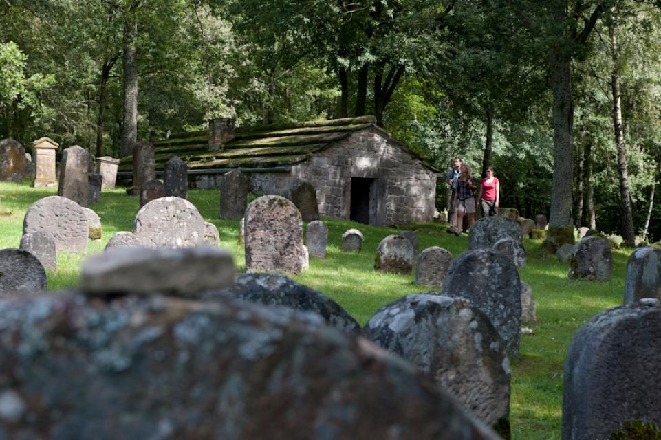 Jüdischer Friedhof in Kleinbardorf