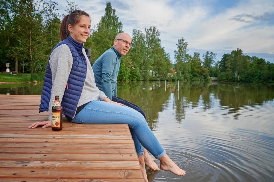 Entspannen am Sulzfelder Badesee