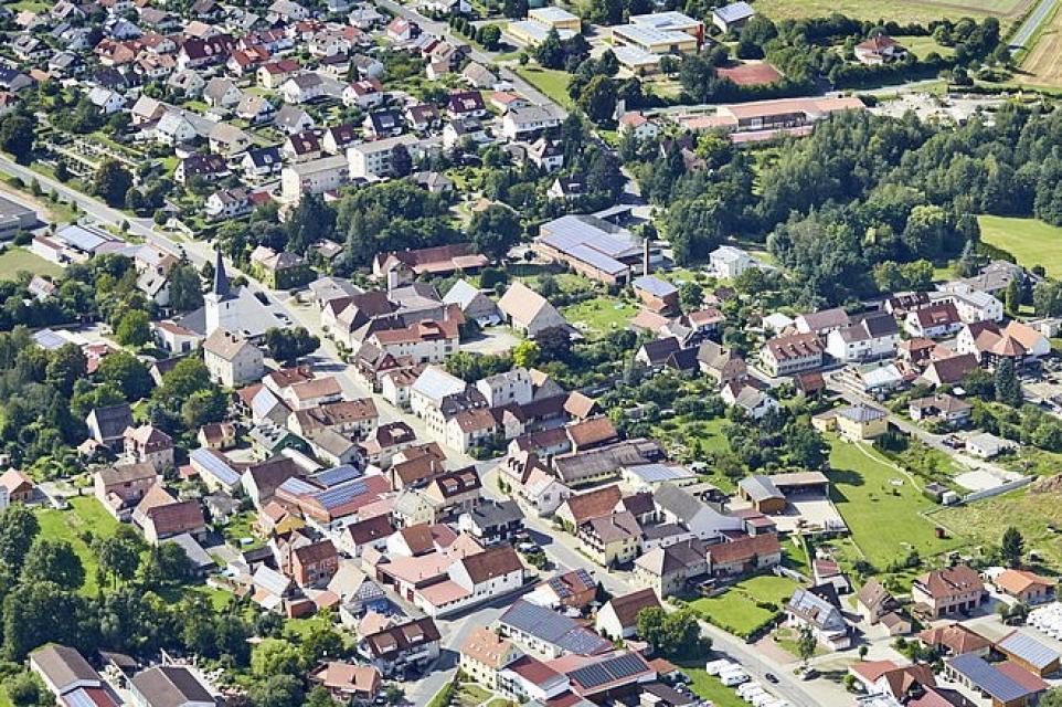 Untersteinbach von oben