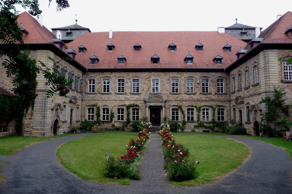 Park Schloss Burgpreppach