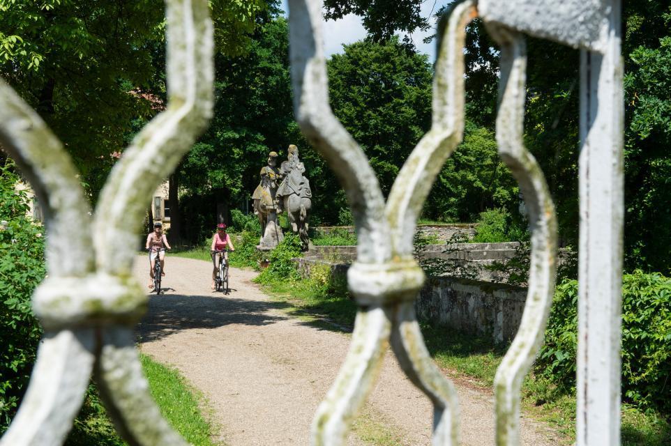 Radtouren zum Schloss Friesenhausen