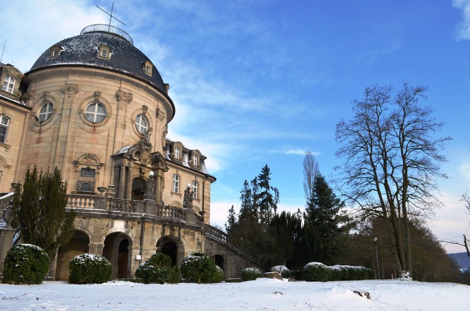 Schloss Craheim im Winter