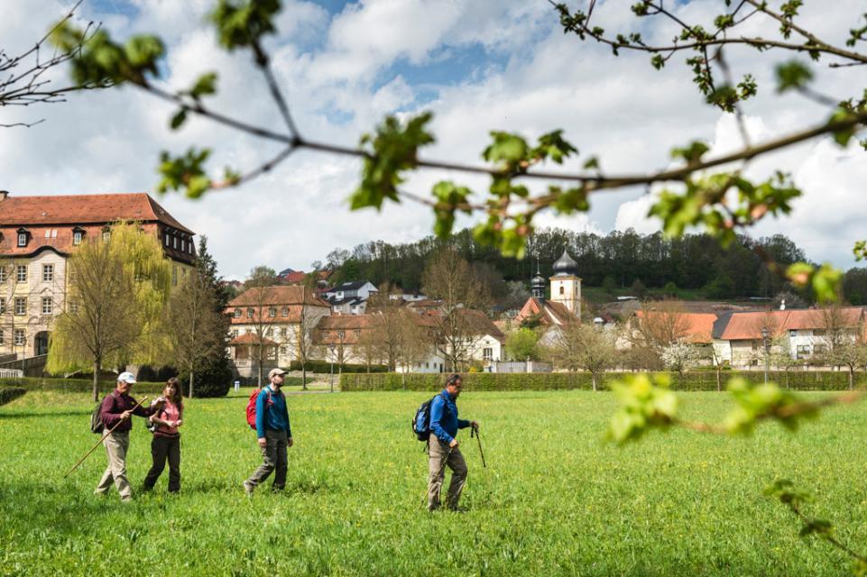 Wunderschöner Schlosspark Gleisenau