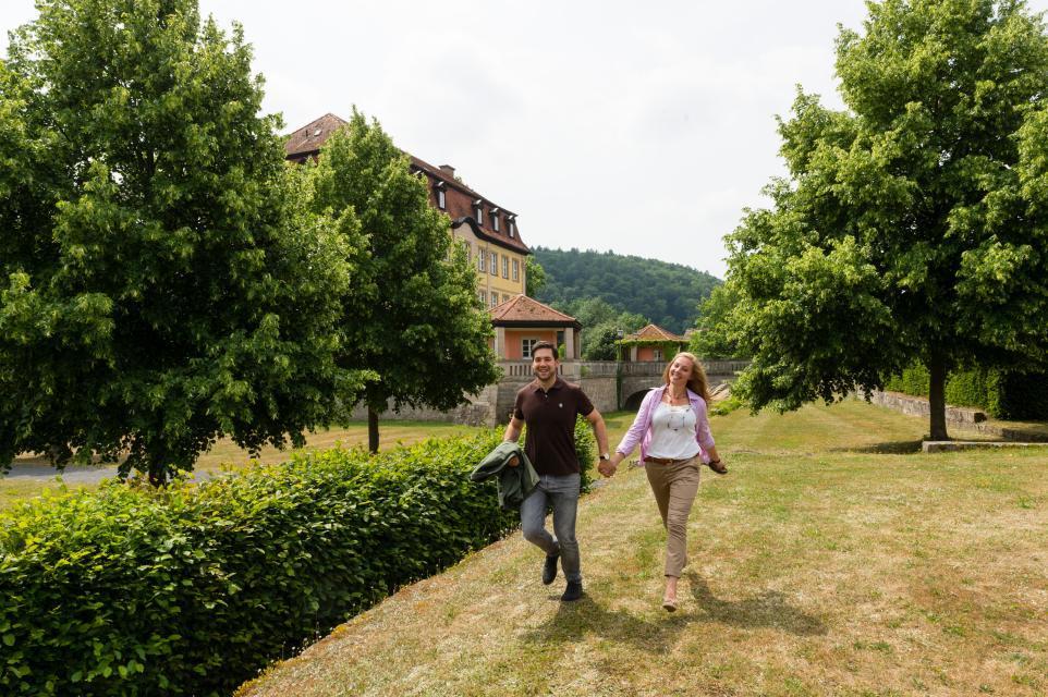 Tolle Kulisse im Schlosspark