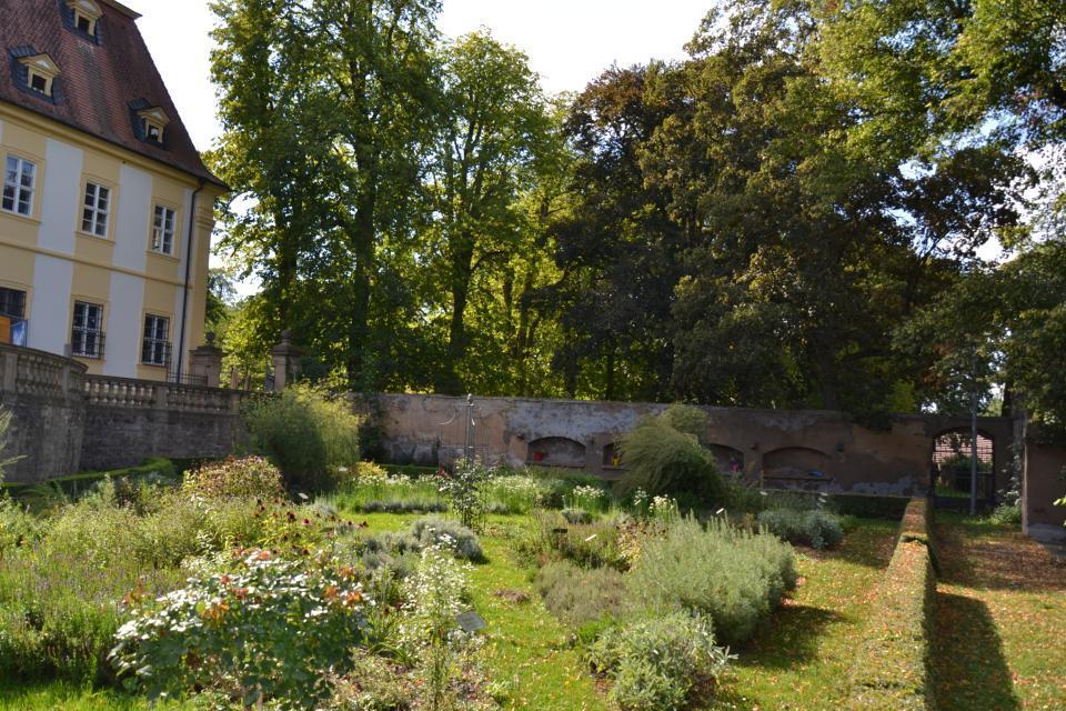 Schlossgarten in Oberschwappach