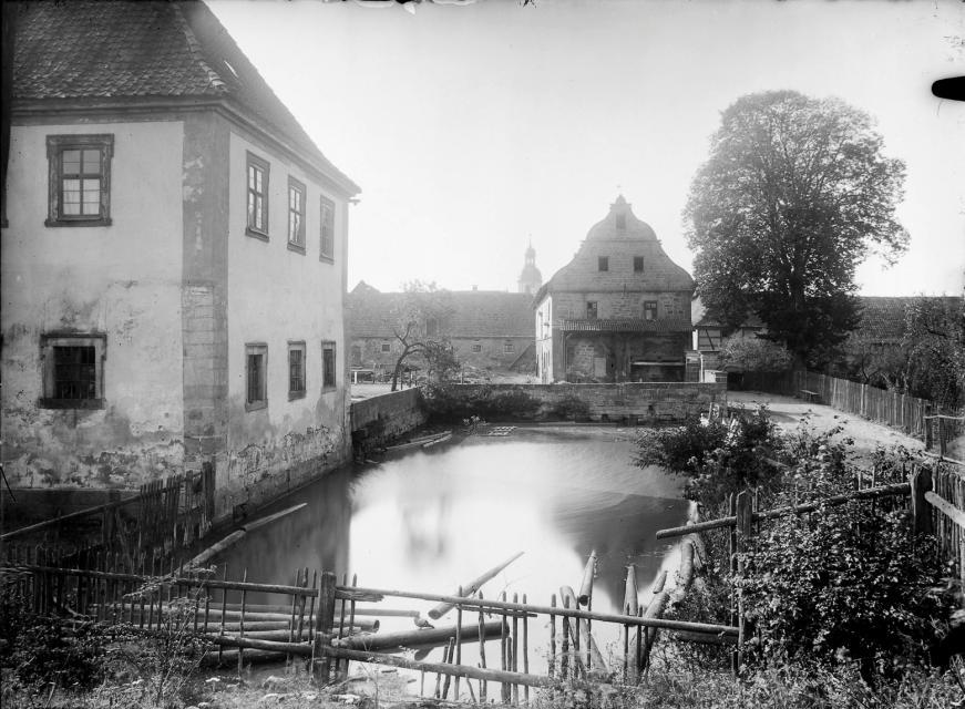 Schloss Trappstadt im Jahr 1910