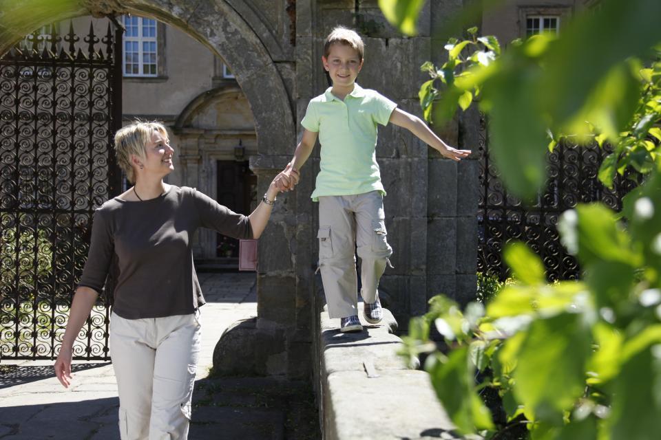 Spaß für die ganze Familie auf dem Schloss Gereuth