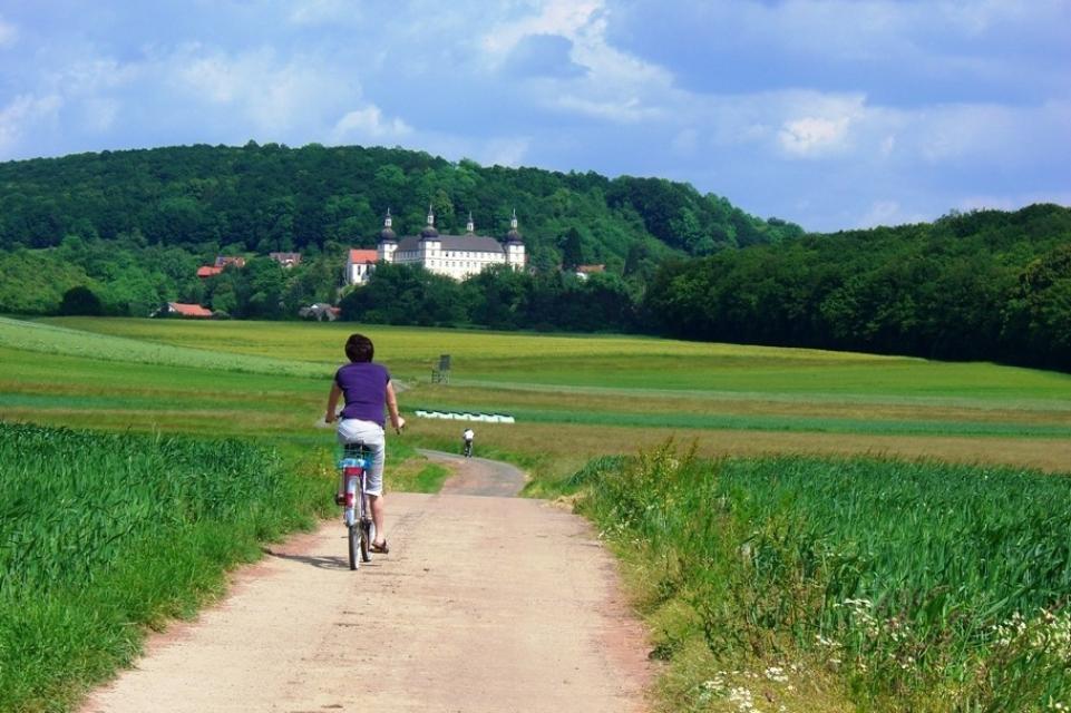 Radfahren zum Schloss Sternberg