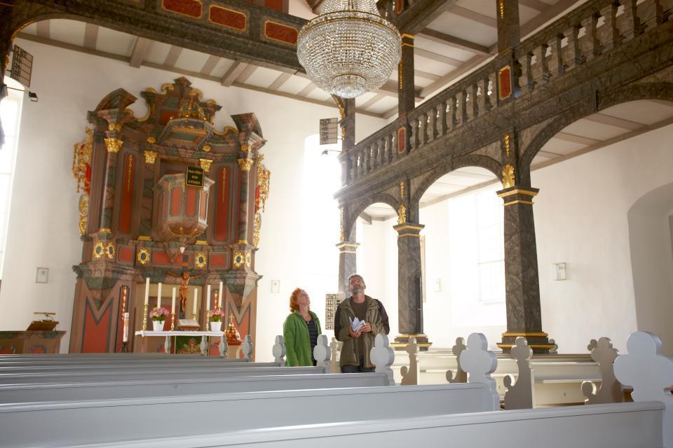 Anliegende Pfarrkirche Maroldsweisach