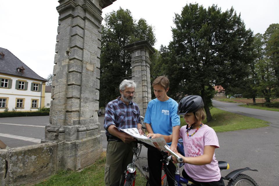 Wunderbare Radtouren zum Schloss Pfaffendorf