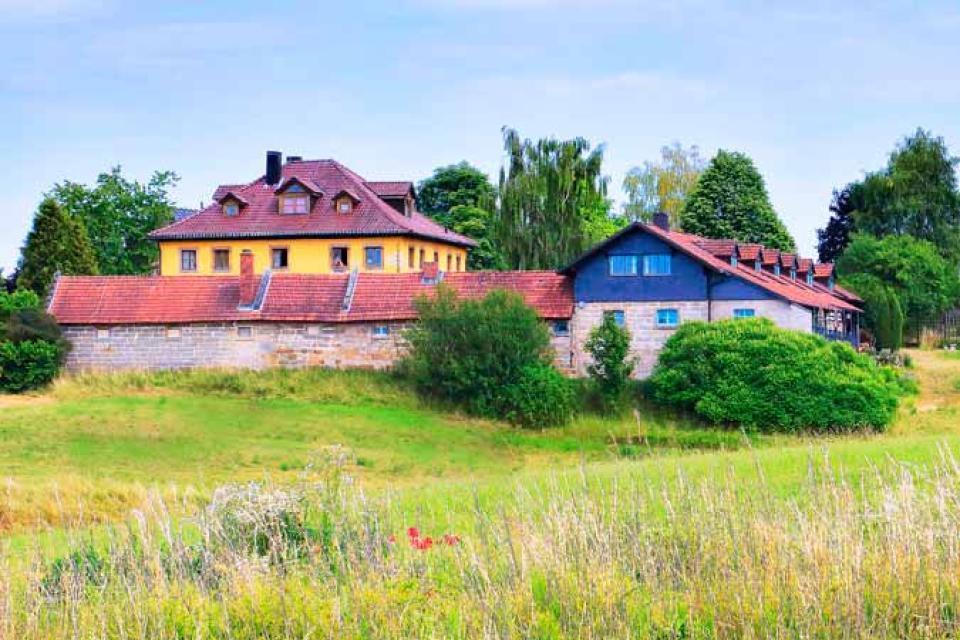 Idyllisch gelegen - Schloss Wasmuthhausen