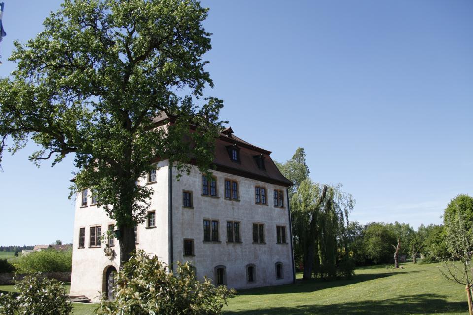 Toller Park um Schloss Leuzendorf