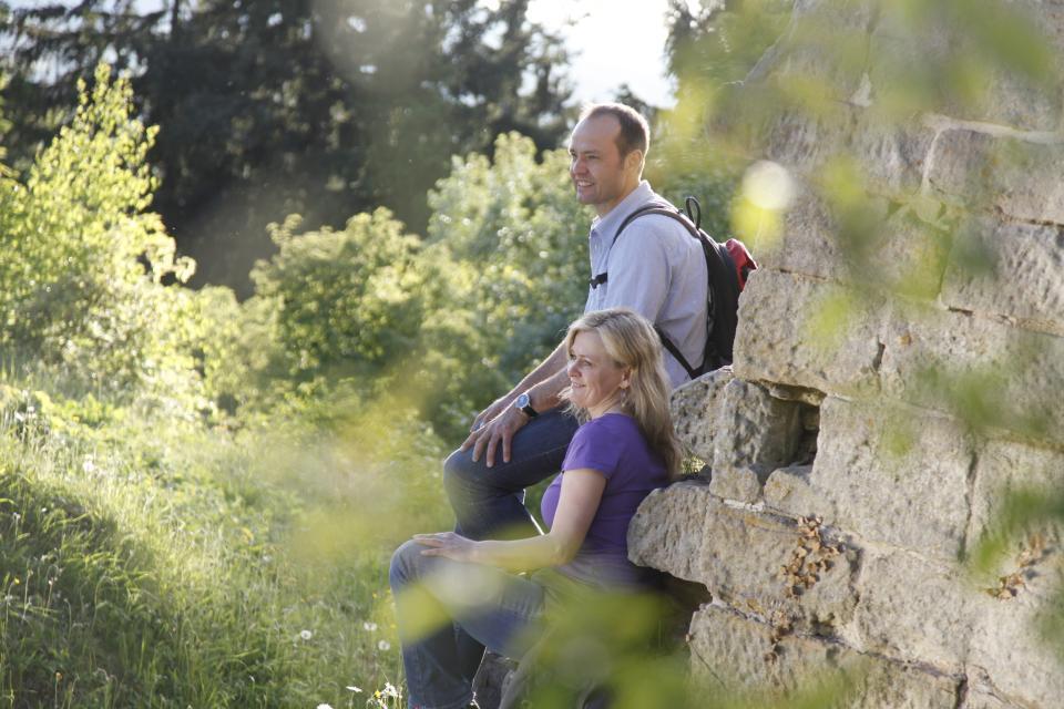 Wunderbare Wanderungen zur Burgruine Raueneck