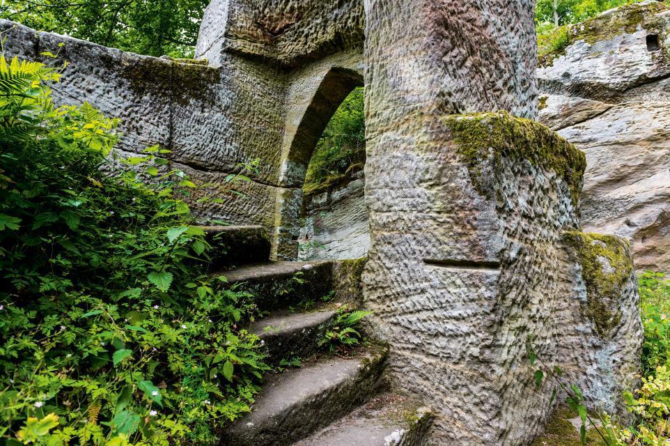 Erlebniswelten auf der Burgruine Rotenhan