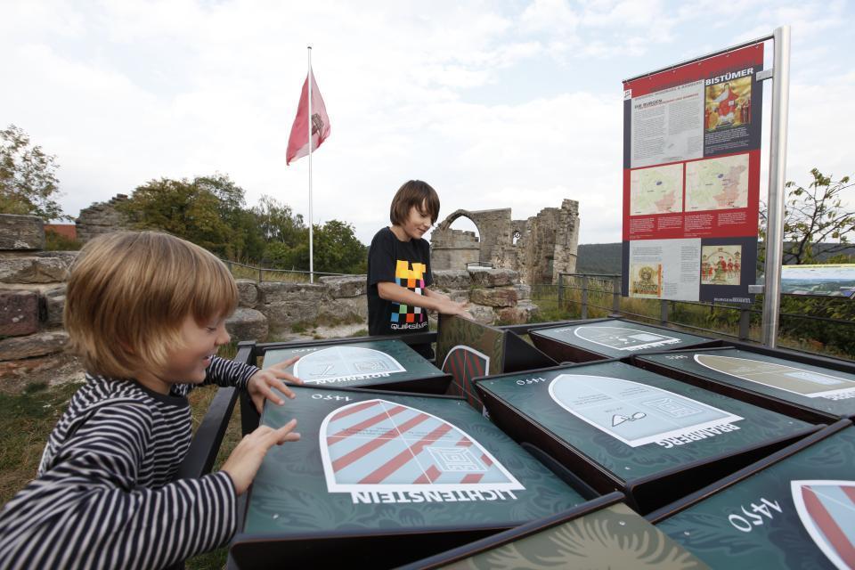 Abenteuer beim Burgeninformationszentrum Altenstein
