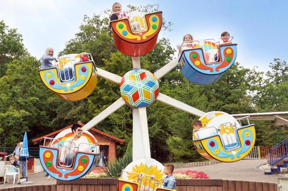 Tolle Attraktionen im Märchenwald Sambachshof