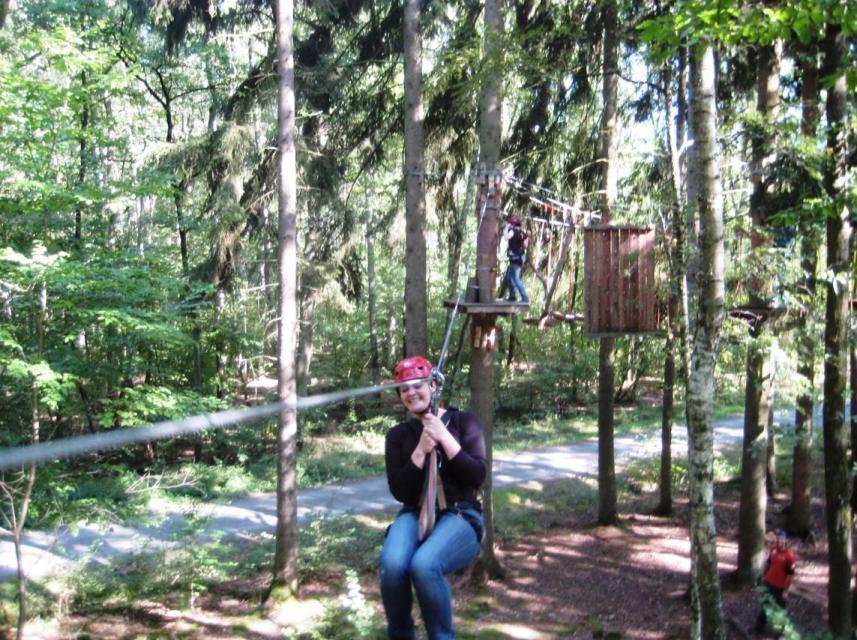 Spaß garantiert beim Kletterwald Nordwärts