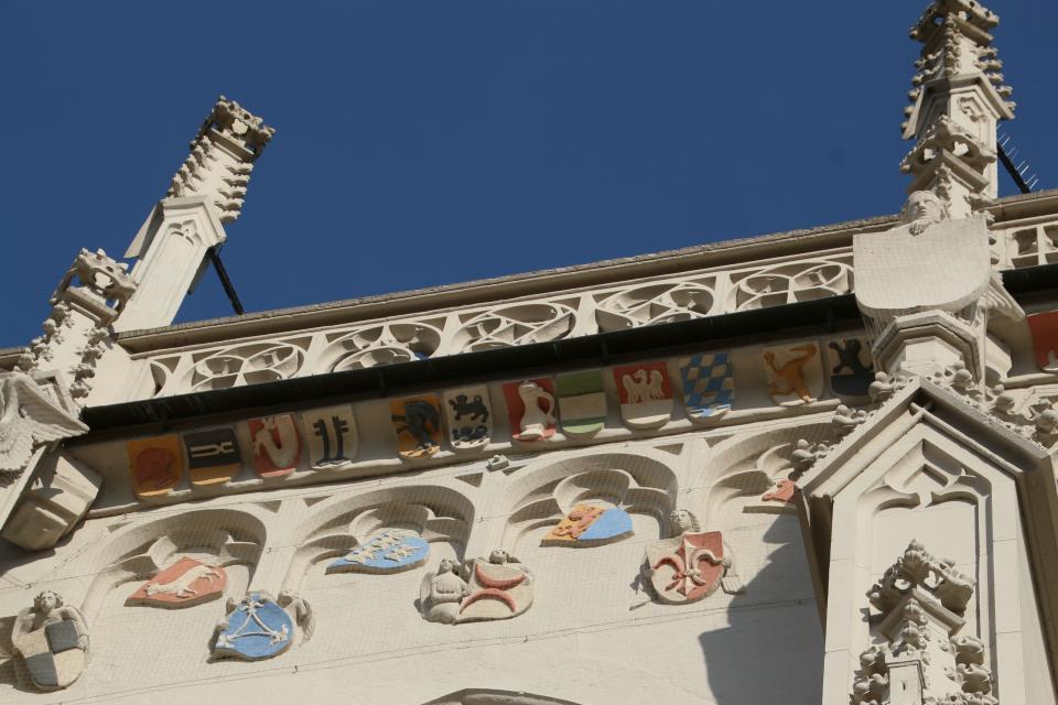 Ritterkapelle mit 248 Wappen