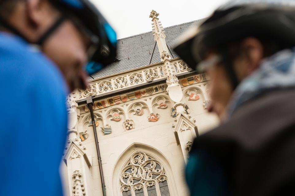 Ritterkapelle als Ziel bei Fahrradtouren