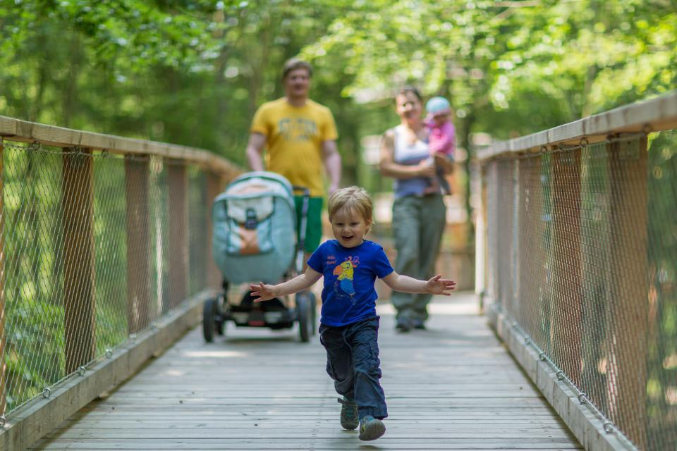 Barrierefrei entdecken mit Kinderwagen oder Rollstuhl