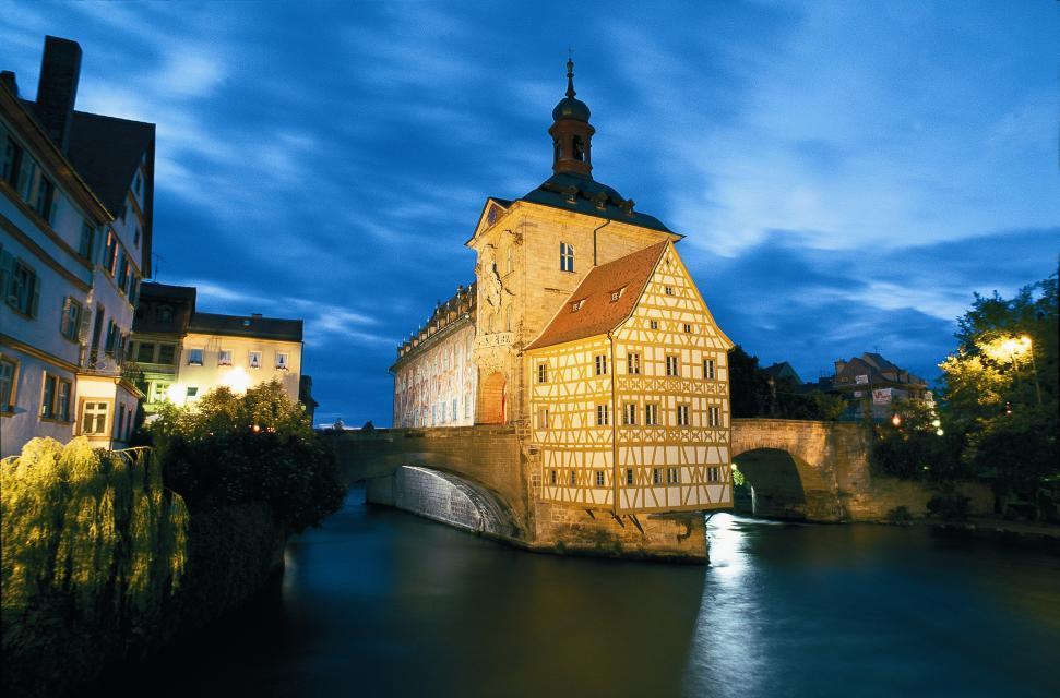 Fachwerkcharme am alten Rathaus Bamberg