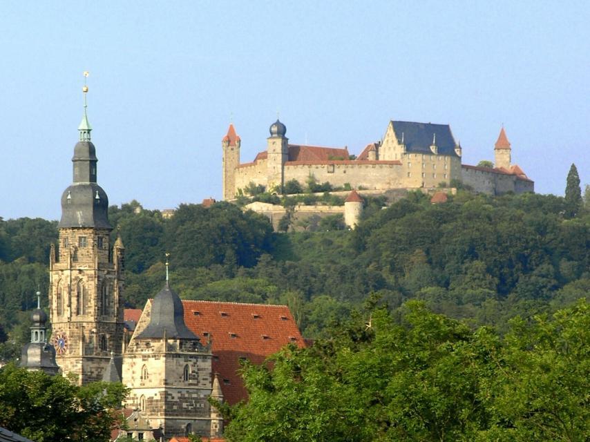 St. Moritz und Veste Coburg