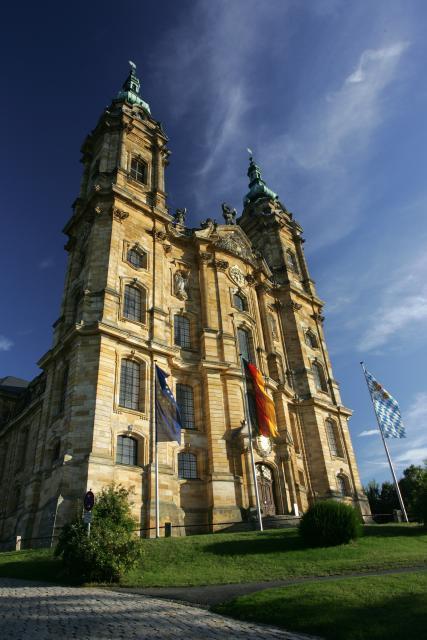 Fassade der Basilika Vierzehnheiligen