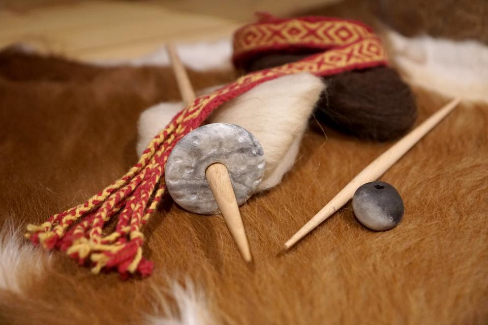 Ärchaologische Funde im Musuem