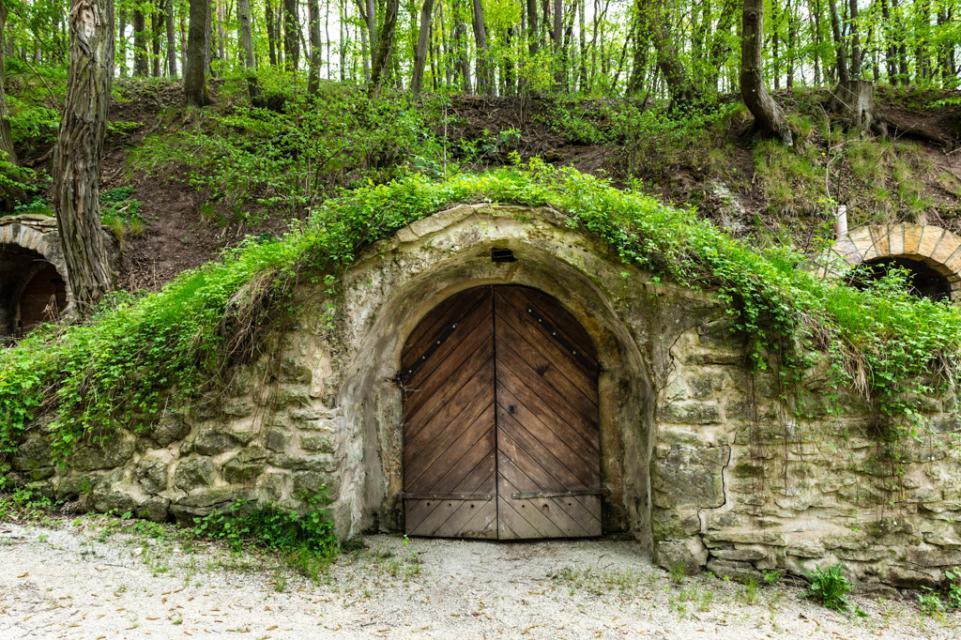 Die Kelleranlage besteht schon seit dem 18. Jahrhundert