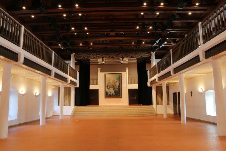 Historisches Ambiente in der Stadthalle Haßfurt