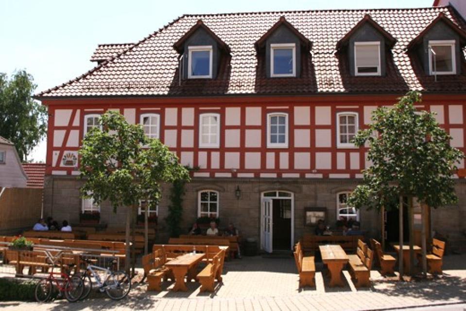 Biergarten Brauerei Hartleb