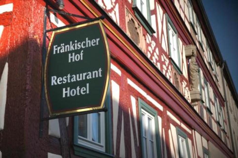 Fachwerkgebäude Fränkischer Hof