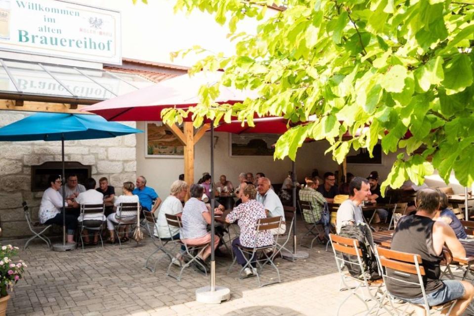 Biergarten Brauereigaststätte