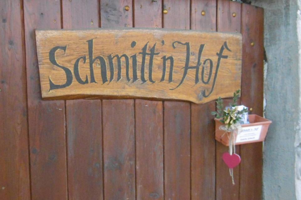 Herzlicher Empfang im Schmitt'n Hof