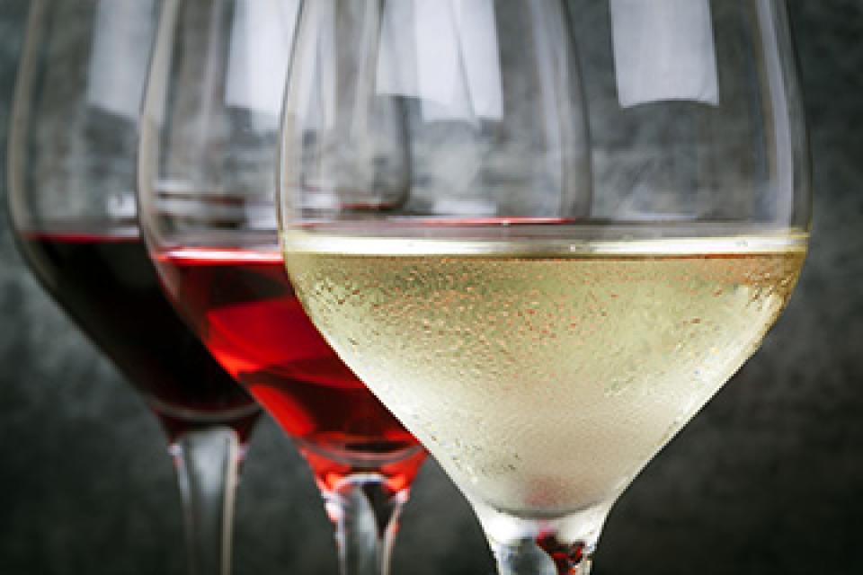 Bester Wein aus dem Weingarten