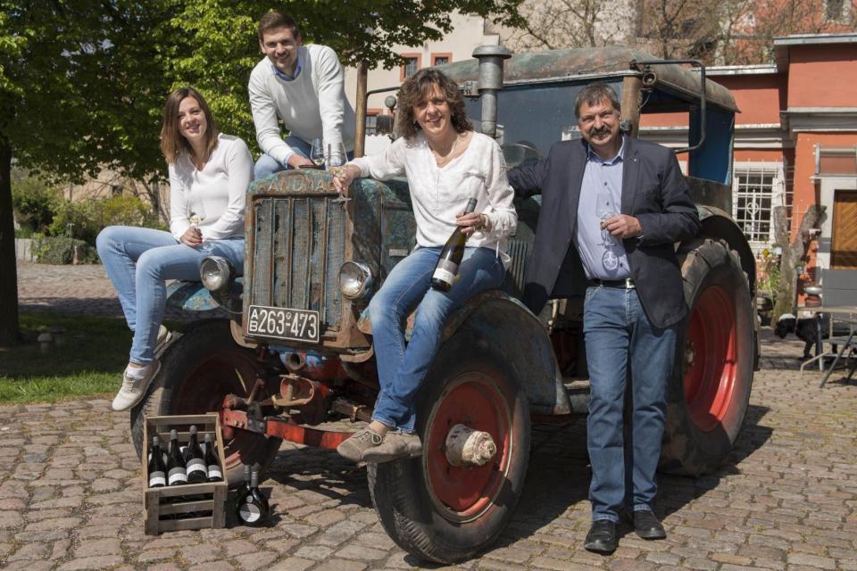 Familienbetrieb sorgt für besten Wein: Familie Laufer
