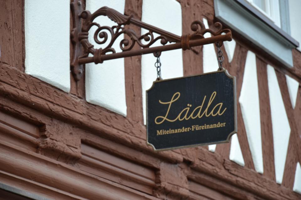 """Das """"Lädla"""" in Burgreppach"""