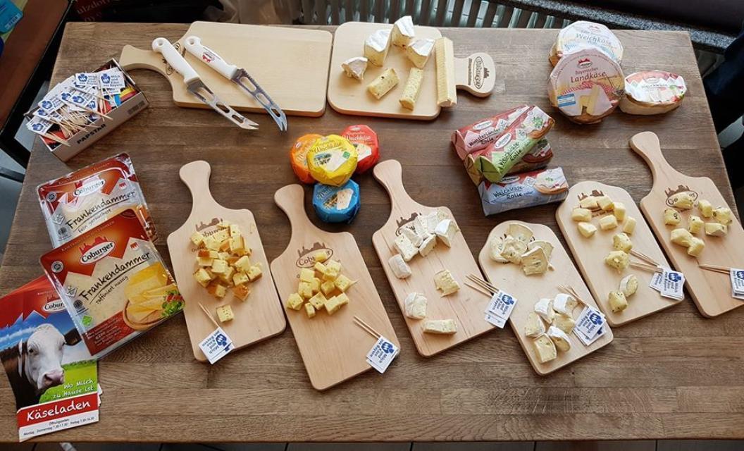 Fränkischer Käse zum Gemießen