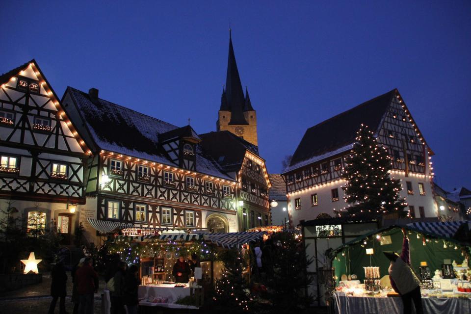 Weihnachtsmarkt Zeil am Main