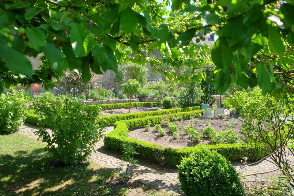 Parks Garten Hassberge Tourismus