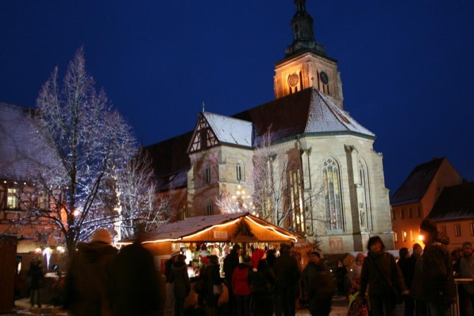 Romantischer Weihnachtsmarkt in Königsberg
