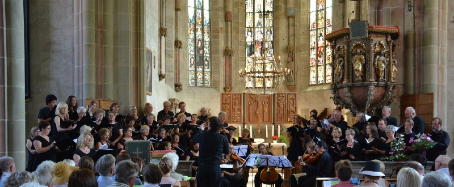Kirchenmusik in den Haßbergen - Konzert: J.S. Bach, Weihnachtsoratorium 1-3
