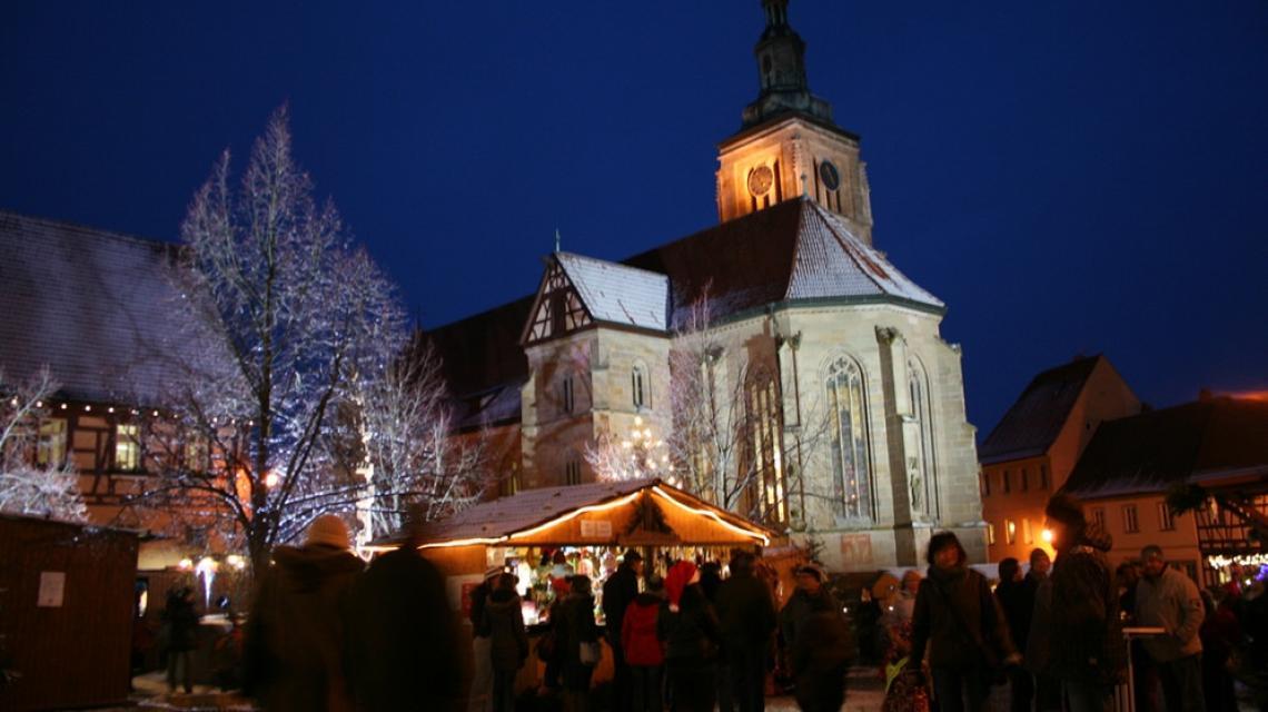 Romantischer Weihnachtsmarkt Königsberg i.Bay.